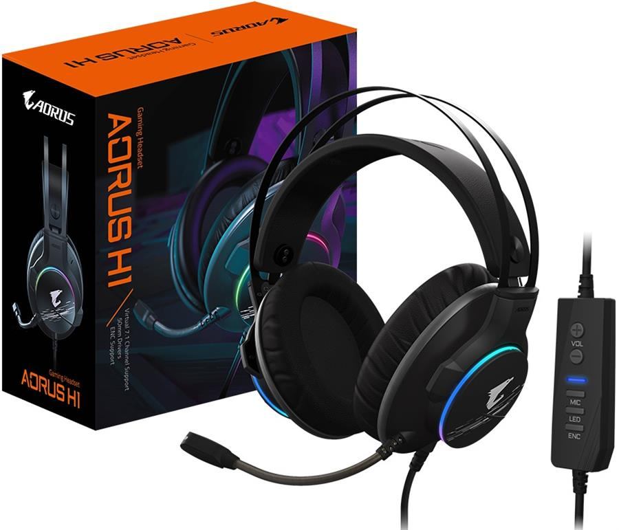 Auricular Gamer | Gigabyte Aorus H1 7.1 Virtual