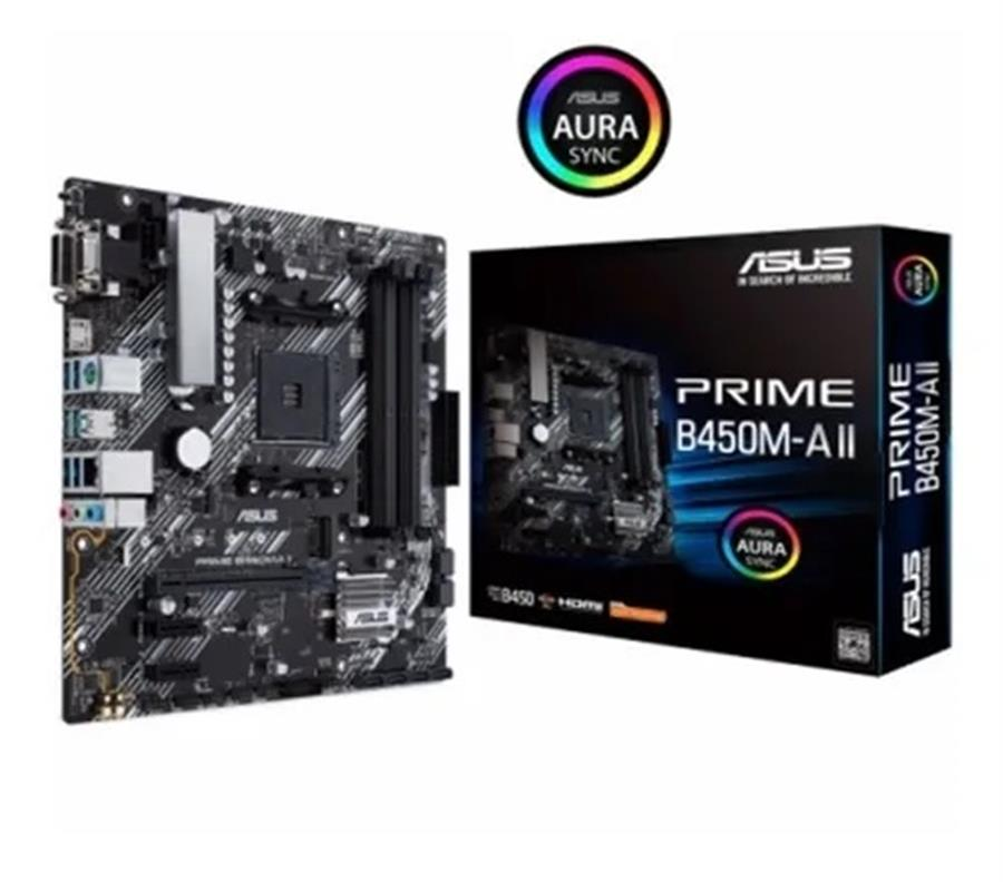 Motherboard Asus Prime B450M-A II AM4