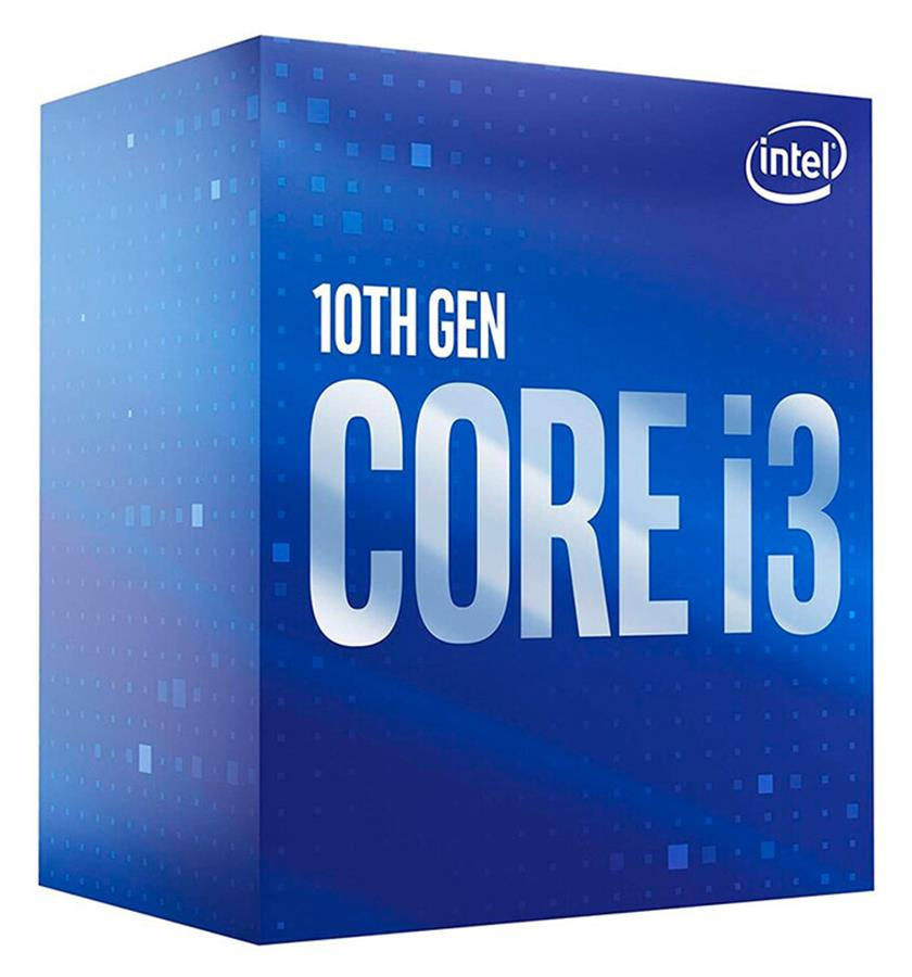 Microprocesador Intel Core i3 10100F Comet Lake 3.6GHz
