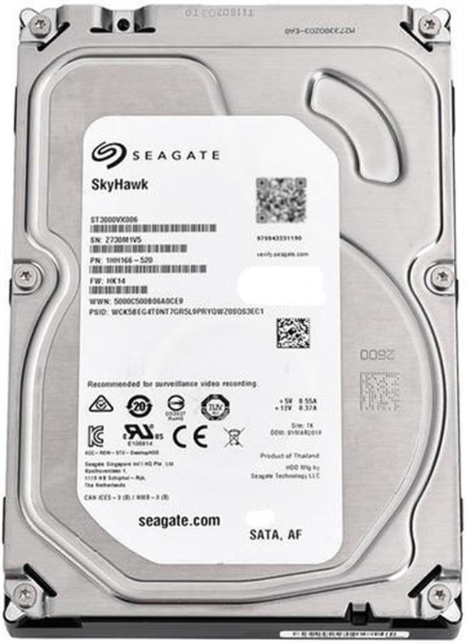 DISCO DURO HDD 8TB SEAGATE SKYHAWK