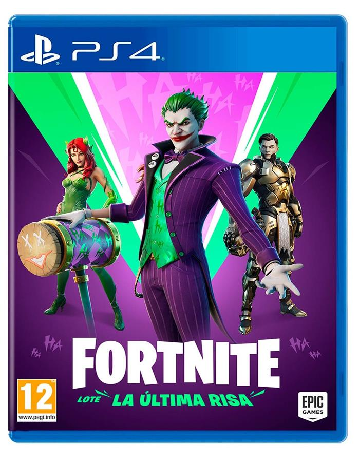 "Fortnite Paquete ""La Última Risa"" (The Last Laugh Bundle)"