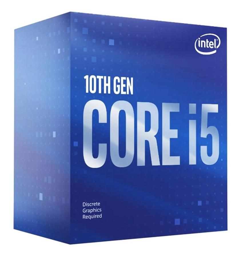 Microprocesador Intel Core i5 10400F Cometlake 6/12 4.3GHz 12MB S1200