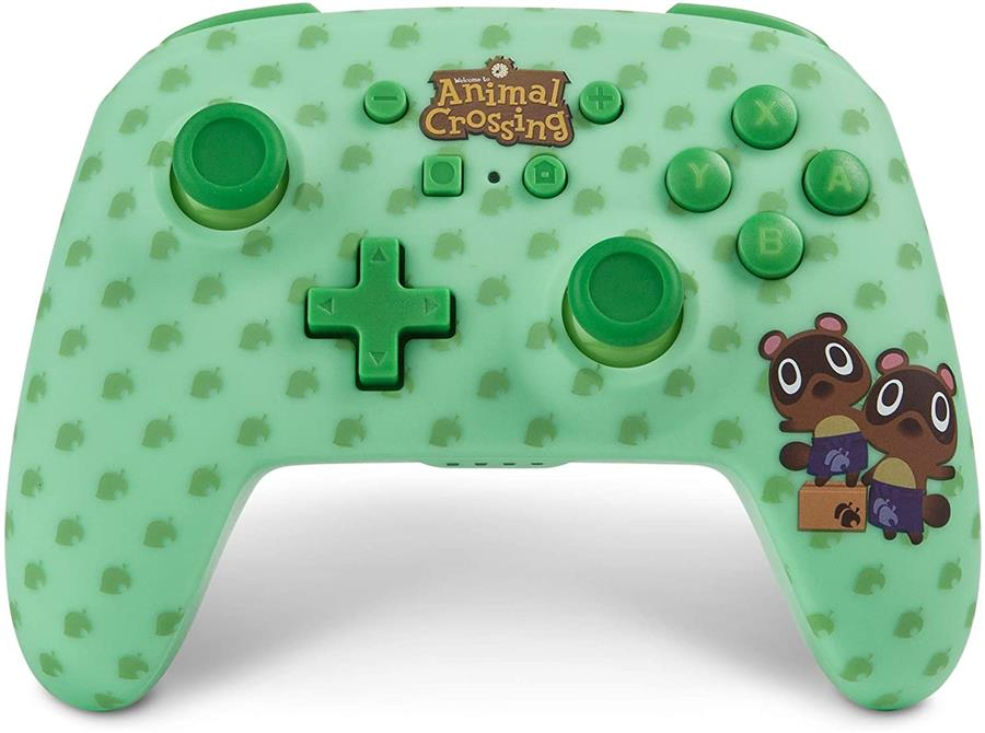 Joystick PowerA - Enhanced Animal Crossing Timmy Nook Wireless Controller