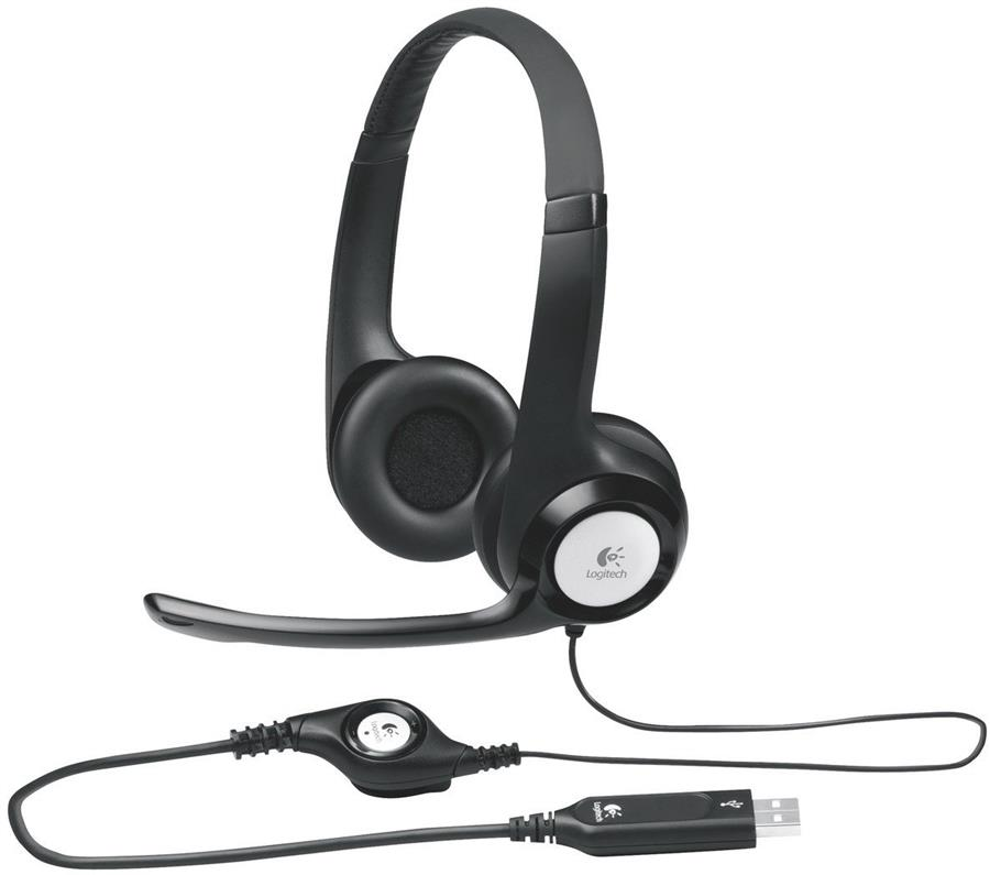 Auricular PC Logitech H390 USB Home Office