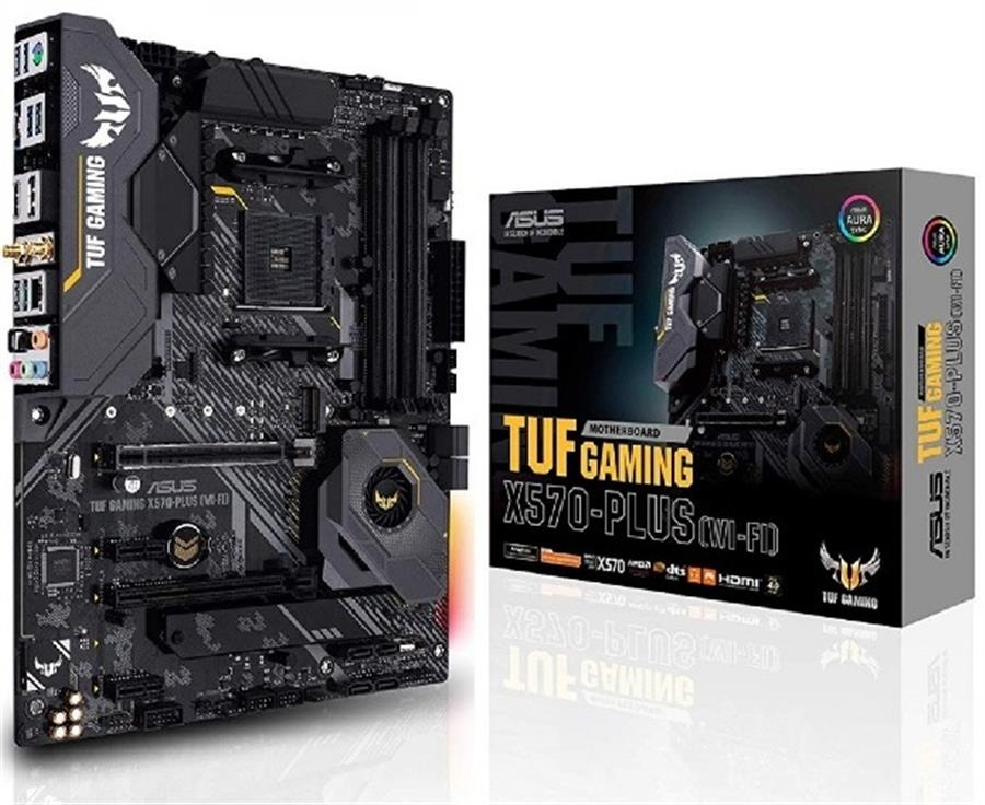 Motherboard Asus Tuf Gaming X570-Plus WiFi AM4