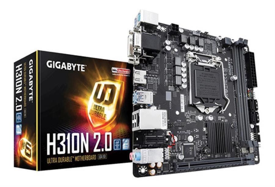 MOTHERBOARD GIGABYTE H310N 2.0 9NA GEN M.2 2280 HDMI