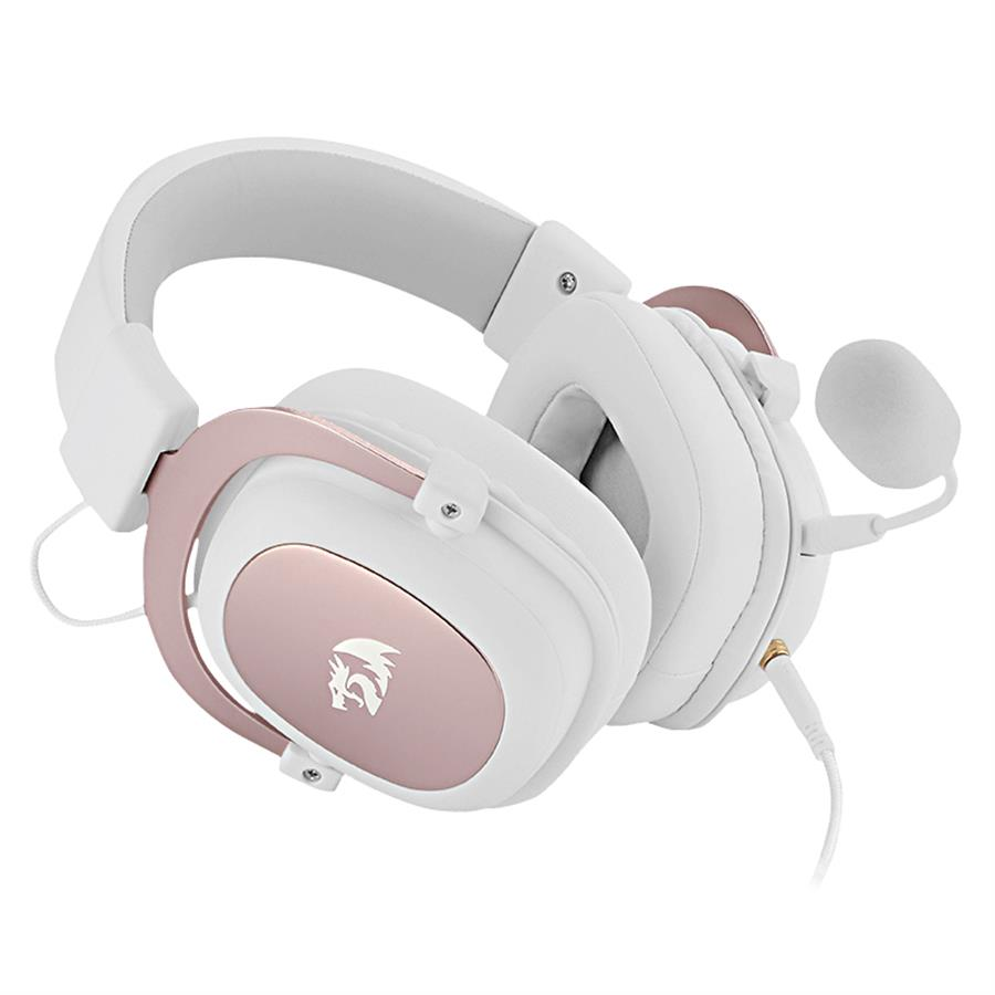 Auricular Gamer |Redragon Zeus H510 White 7.1 USB c/cable