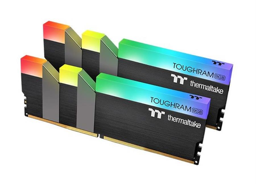Kit Memoria Ram 16GB (2x8GB) 3600MHz Thermaltake Toughram RGB Black