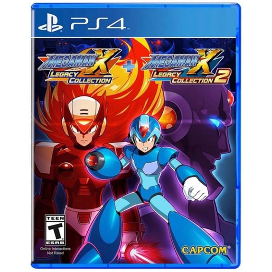 Megaman Legacy Collection X1 + X2