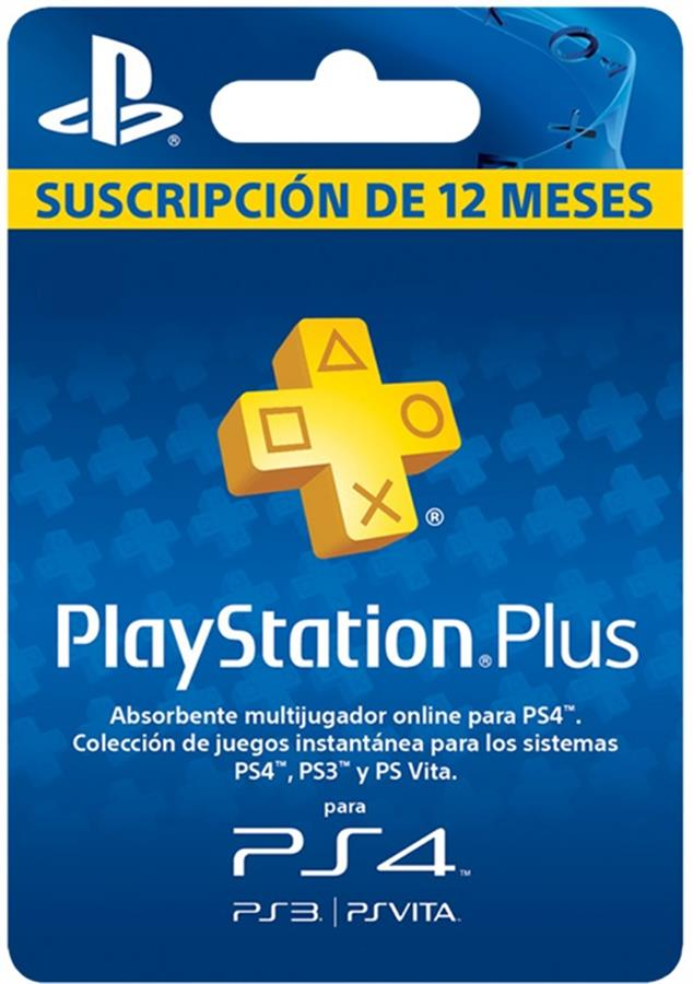 PS Plus x 12 Meses ARG / USA | Playstation Plus