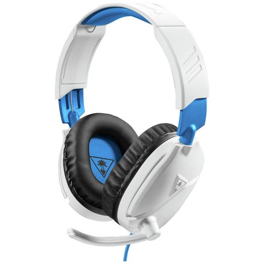 Auricular Gamer | Turtle Beach Recon 70 c/cable jack 3.5 Blanco